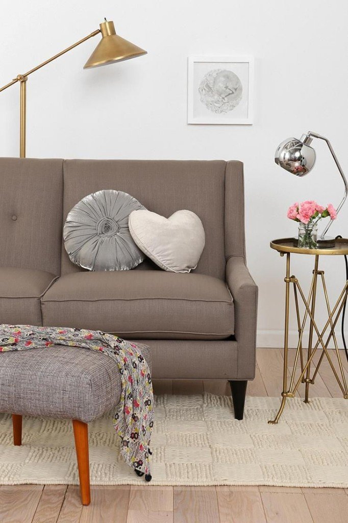 Florence Knoll Loveseat replica