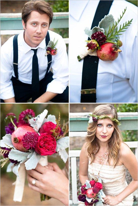 pomegranite_wedding_bouquet