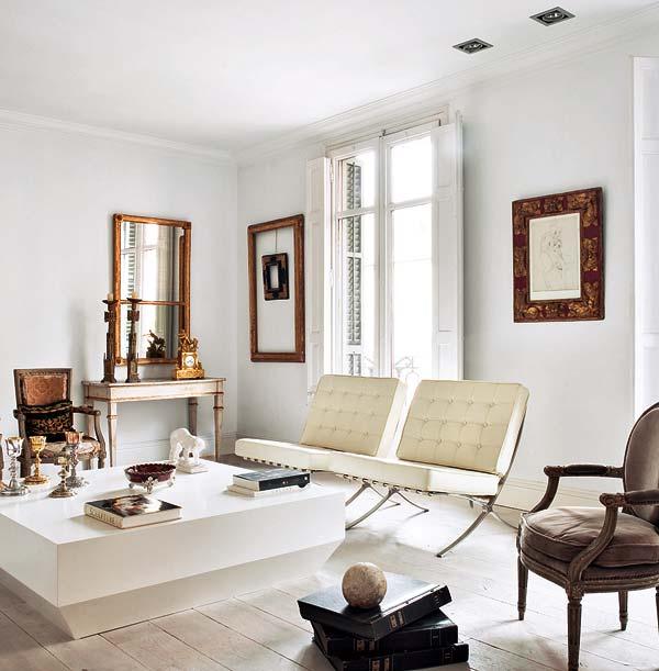 The Barcelona chair replica