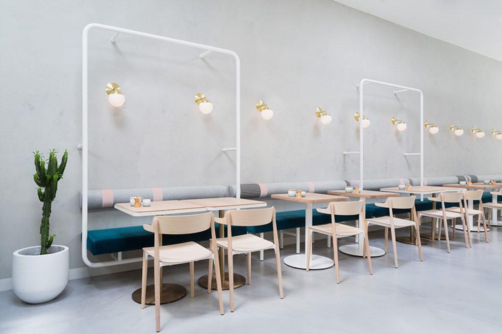 No.19 Cafe Society, Ascot Vale, by BIASOL:Design Studio. Photo © Ari Hatzis