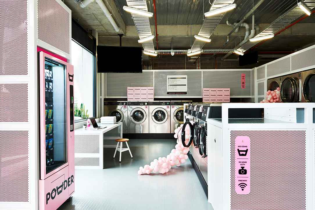 Melbournes powder laundry takes millennial pink to the next level instagramming a laundromat is the last thing youd expect yourself to be seen doing yet somehow the 21st century does funny things to us solutioingenieria Image collections