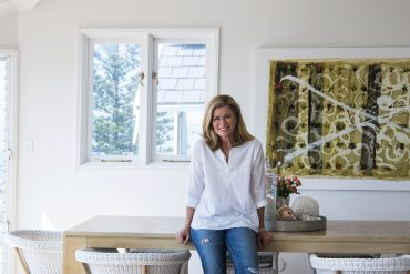 At home with Deborah Hutton