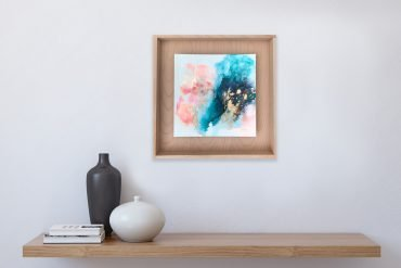 Create calm in your home with art